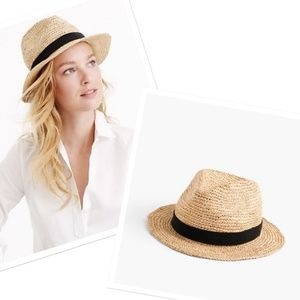 $49 J. Crew Packable Straw Hat